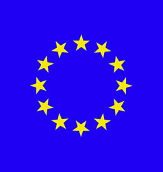european union stars vector image