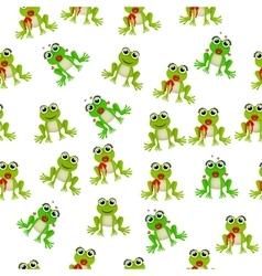 Frog prince or princess vector