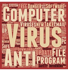 How to Protect Your Files From a Computer Virus vector