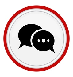 Icon dialogue vector