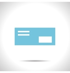 mail icon Epsflat color0 vector image