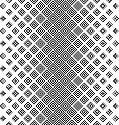 Seamless vertical black white square pattern vector