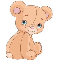 Sitting Teddy Bear vector image