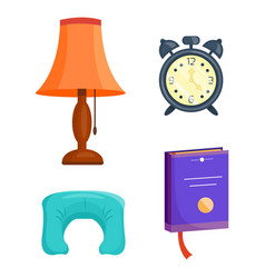 Sleep icons set collection nap vector
