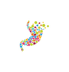 stomach care icon designs vector image