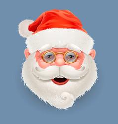 happy santa claus vector image vector image