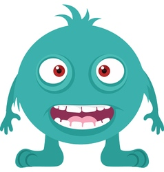 Happy Monster Icon vector image