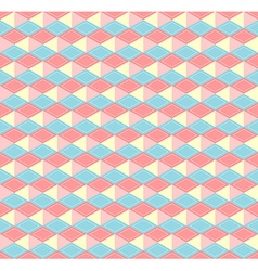 Hex pastel pattern vector image vector image