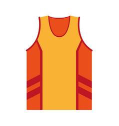 sleeveles shirt icon image vector image