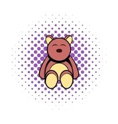 babear comics icon vector image