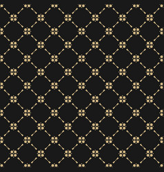 Black and gold abstract seamless background vector
