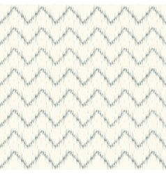 Ikat chevron seamless pattern vector