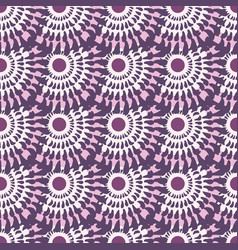 vintage seamless pattern pink abstract background vector image