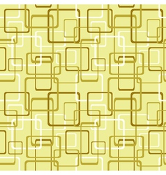 Seamless pattern with square and rectangle shapes vector image vector image