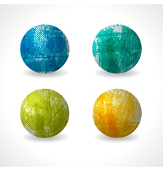 Grunge Circle Design vector image vector image