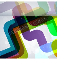 Abstract pipes background with design elements vector image