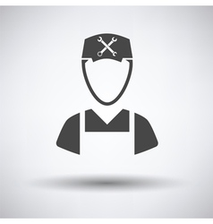 Car mechanic icon vector image