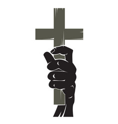 crucifixion vector image