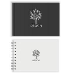 Sketchbook vector image