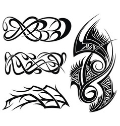 abstract elements designs vector image