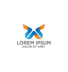 creative minimal av logo icon design in format vector image