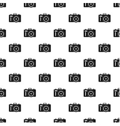 Photocamera pattern vector