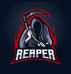 Reaper logo vector