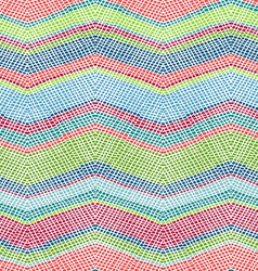 Seamless crochet pattern vector