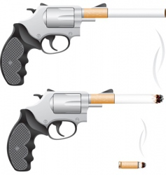 smoking is death vector image