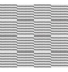 Black white grid pattern vector image