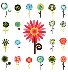 flower graphics vector image vector image