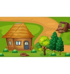 Cabin vector image