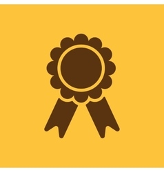 The award icon Achievement symbol Flat vector image