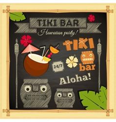 Tiki Bar vector image