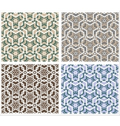 Geometrical seamless background vector
