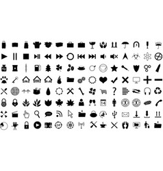 Icon Collection vector image