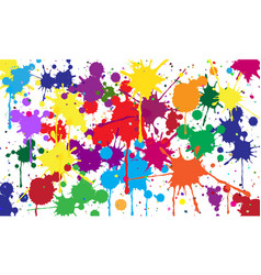 Abstract background of colored blots vector