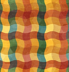 Abstract vintage wave seamless vector
