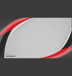 corporate concept red black grey modern vector image