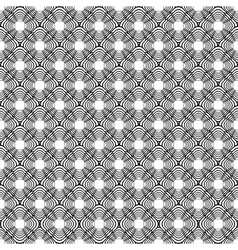 Design seamless uncolored diagonal diamond pattern vector