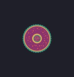 dessert computer symbol vector image
