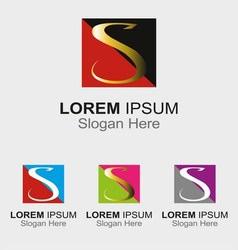 Letter S logo design sample icon vector