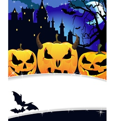 Night Haunted Castle vector