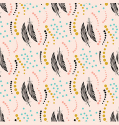 Seamless color pattern pattern with big black and vector