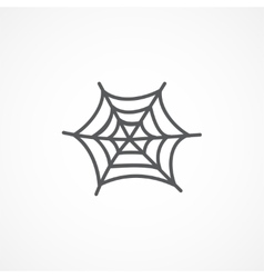 Spiderweb icon vector image