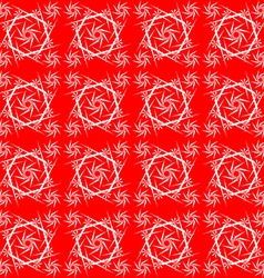 Red lace vector image vector image