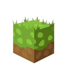 Ground surfaces Landscape web design vector image