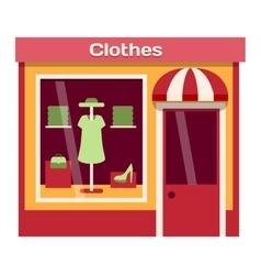 Shop facade vector image