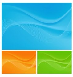 technology backgrounds vector image