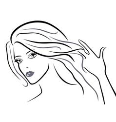 Young beautiful women vector image vector image